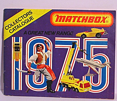 1975 Matchbox Collector's Catalog