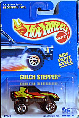 HotWheels Gulch Stepper #251, black (Image1)