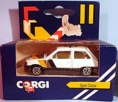1980s Corgi Jr. Opel Corsa (Image1)