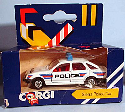 1980s Corgi Jr. Sierra Police Car (Image1)