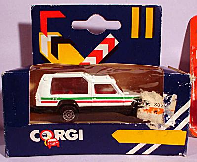 1980s Corgi Jr. White Truck (Image1)