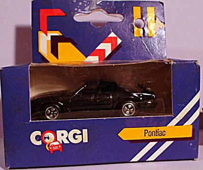 1980s Corgi Jr. Black Pontiac (Image1)
