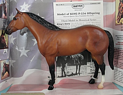 Breyer Ideal Qh Off Spring Of King