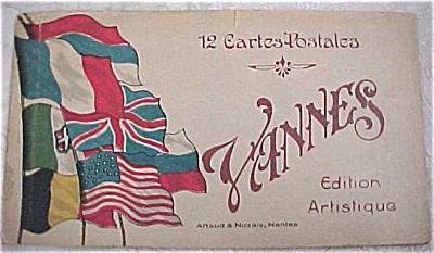 Old Souvenir Postcard Book - Vannes (Image1)