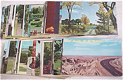 Us Postcard Lot - Tourist & Scenic