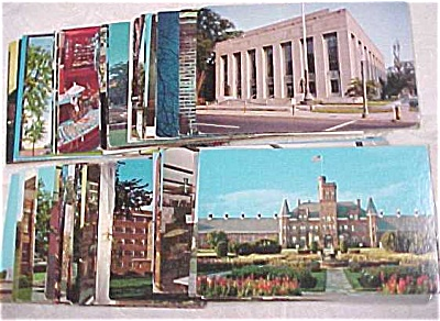 Us Postcard Lot - Us Buildings