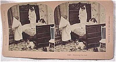 1897 B.W. Kilburn Stereoview #11497 Children (Image1)