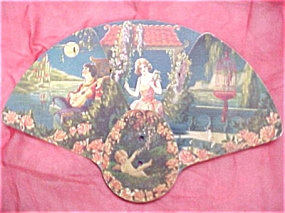 1920s Advertising Fan (Image1)