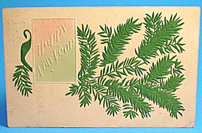 1908 Postcard:  Christmas Greeting, Used (Image1)
