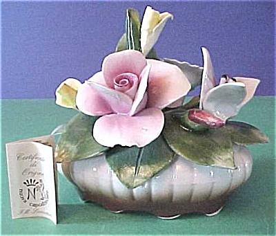 Capo di Monte Flower Bowl (Image1)