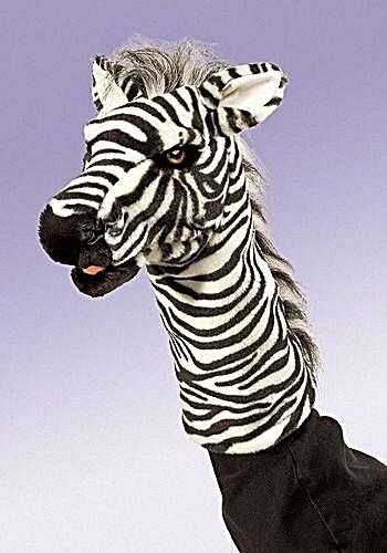 Folkmanis Zebra Stage Puppet (Image1)