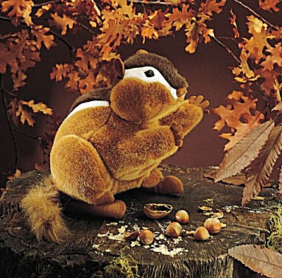 Folkmanis Chipmunk Hand Puppet (Image1)
