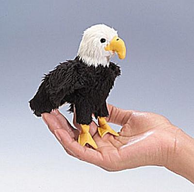 Folkmanis Finger Puppet Eagle (Image1)