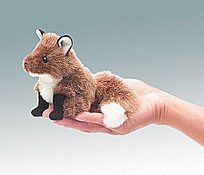 Folkmanis Finger Puppet, Fox (Image1)