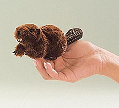 Folkmanis Finger Puppet Beaver (Image1)