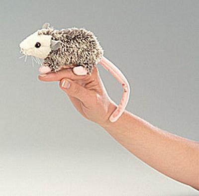 Folkmanis Finger Puppet Opossum (Image1)
