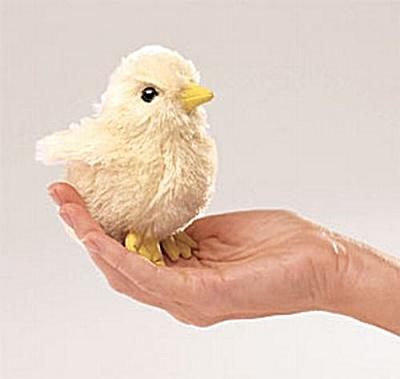 Folkmanis Finger Puppet Chick (Image1)