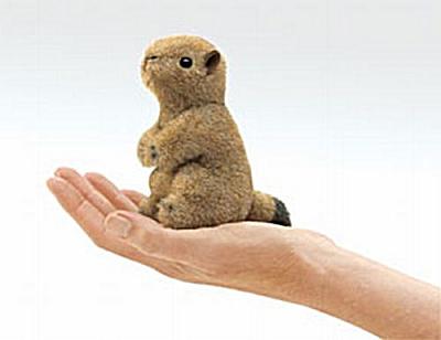 Folkmanis Finger Puppet Prairie Dog (Image1)