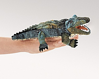 Folkmanis Finger Puppet Alligator