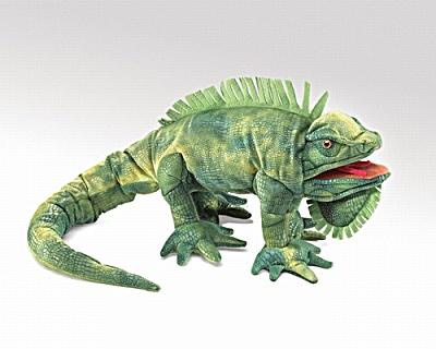 Folkmanis Hand Puppet Iguana (Image1)