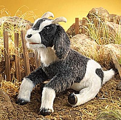 Folkmanis Hand Puppet Goat (Image1)