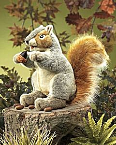 Folkmanis® Hand Puppet Grey Squirrel