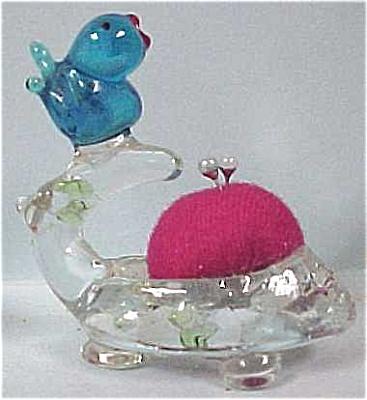 Bird & Nest Pin Cushion (Image1)