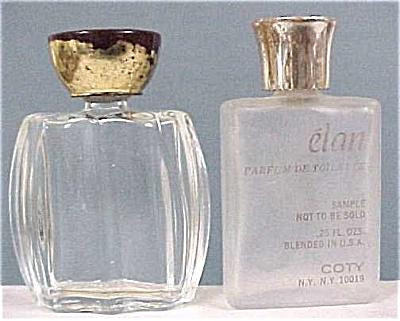 Two Vintage Miniature Perfume Bottles (Image1)