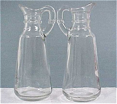 Anchor Hocking Cruet Or Syrup Pair