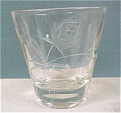 Juice Glass, cut design (Image1)