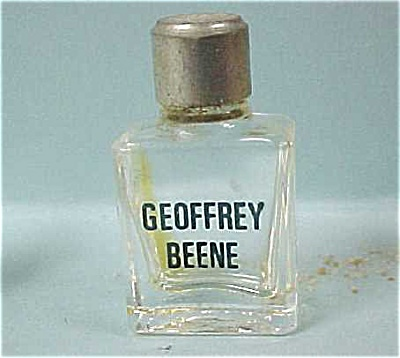Miniature Geoffrey Beene Perfume Bottle