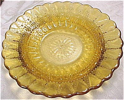 Small Amber Plate (Image1)
