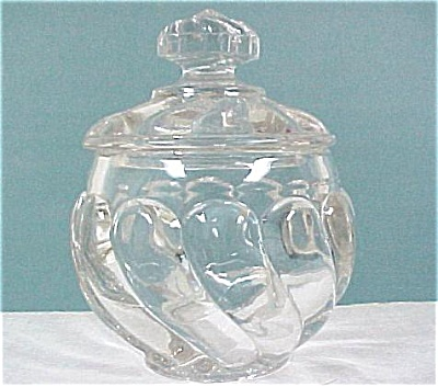 Small Clear Lidded Trinket Dish (Image1)