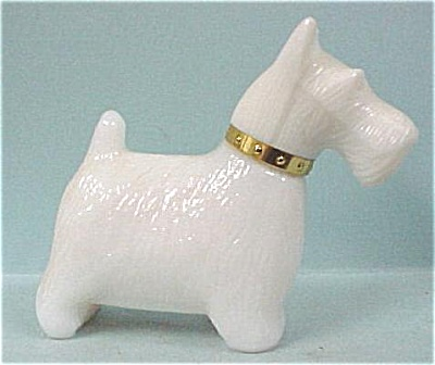 Avon Scottish Terrier Bottle
