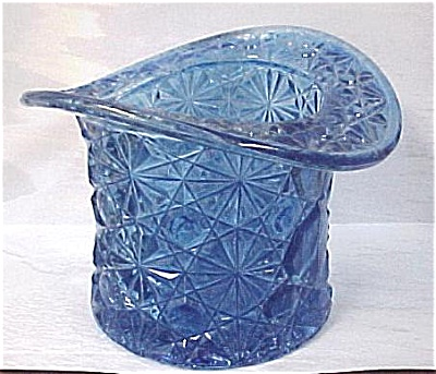 Large Blue Glass Hat (Image1)