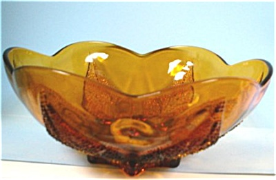 Anchor Glass Desert Gold Bowl (Image1)