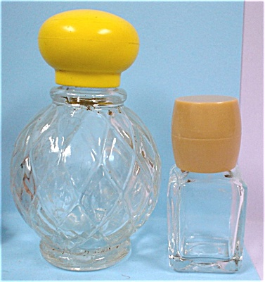 Small Avon And Brut Cologne Bottles