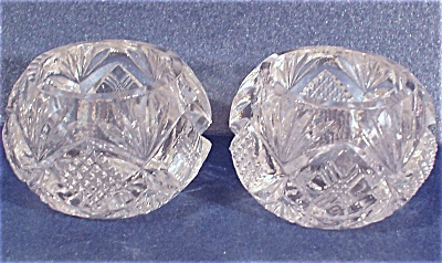 Clear Glass Salt Dip Pair (Image1)