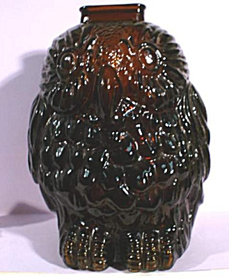 Glass Wise Old Owl Bank (Image1)