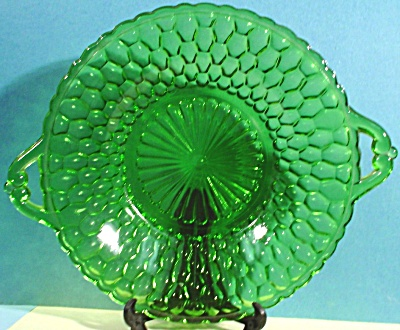 Indiana Glass Green Candy Dish (Image1)