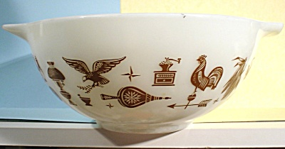 Pyrex Early American Pattern 2 1/2 Qt Mixing Bowl (Image1)