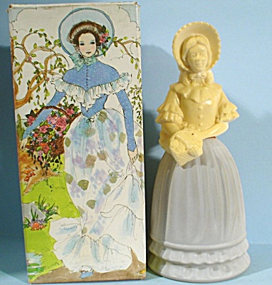 Avon Lady Figural Decanter Bottle