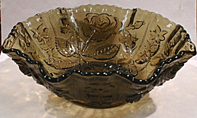 Imperial Glass Rose Pattern Bowl (Image1)