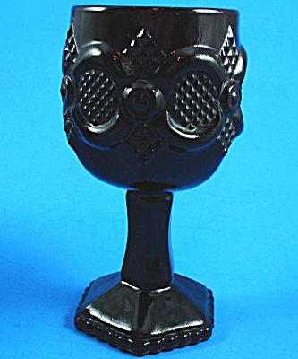 Avon Cape Cod Ruby Glass Goblet (Image1)