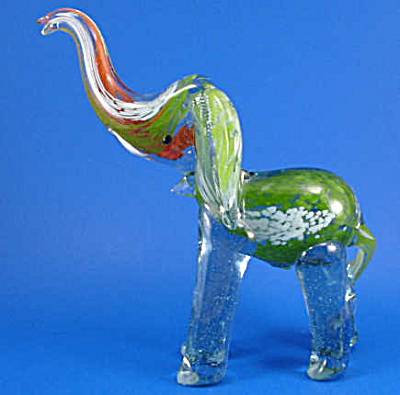 Art Glass Elephant (Image1)