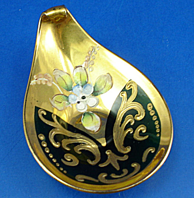 Small Murano Green Glass Dish (Image1)