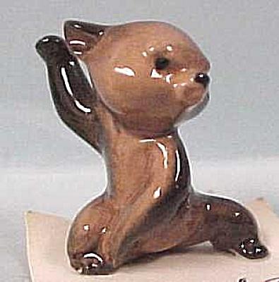 Hagen-Renaker Miniature Grumpy Bear Cub (Image1)