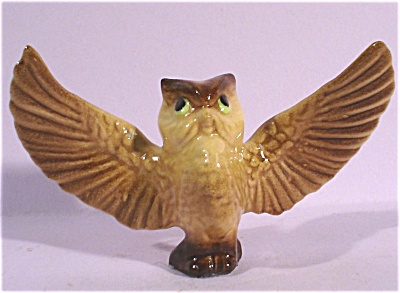 Hagen-Renaker Miniature Owl Papa (Image1)