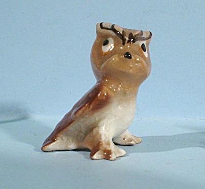 Hagen-Renaker Miniature 1950s Baby Owl (Image1)