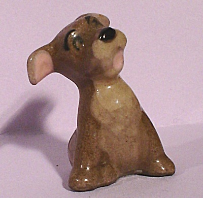 Hagen-renaker Miniature Disney Puppy Scamp